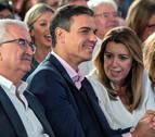 Sánchez, Casado y Rivera elevan la intensidad de la campaña andaluza
