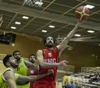 Javier Marín, escolta del Basket Navarra, y su triunfo a 19 metros del aro