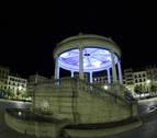 Un programa de televisión nacional descubre Pamplona de noche