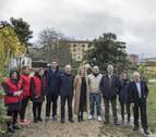 Los capuchinos ceden a Cruz Roja las huertas de su convento de Estella