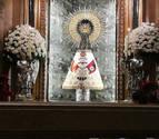 El Cabildo de Zaragoza dice que se puso un manto de la Falange a la Virgen