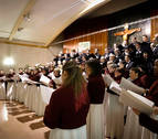El Orfeón Pamplonés 'entonará' la misa de Santa Cecilia de este sábado