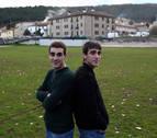 Marcos e Iñigo Agramonte, como dos gotas de agua