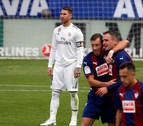 El Eibar golea al Real Madrid en la primera derrota con Solari