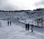 Alerta amarilla en Navarra por nieve a más de 900 metros