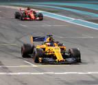 Hamilton gana en Abu Dabi la última carrera de Alonso en la Fórmula 1