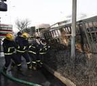 Al menos 23 muertos en una explosión junto a una planta química en China