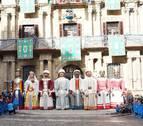 Pamplona celebra el viernes San Saturnino con los gigantes y cabezudos, y una procesión