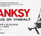 Banksy, ¿genio o vándalo? propone la primera exposición de su obra