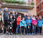 13 criadores de Jaca Navarra exhiben en Estella la pureza de la raza