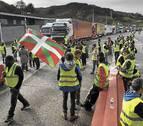 Las protestas en Francia colapsan la frontera