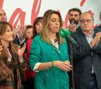 Susana Díaz llama a todos los partidos a parar a la