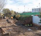 La CHE instala tres compuertas en 2 ríos para reducir daños en Tudela