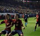 Osasuna suma 7 puntos a partir del minuto 80 en las últimas cinco jornadas