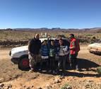 Dos tudelanos, de rally solidario a Marruecos