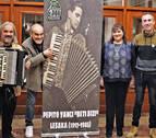 El espectáculo 'Beti bizi' recuerda a Pepito Yanci, el genio del acordeón