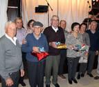 Barillas homenajea a sus mayores