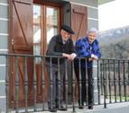 Hermanos y centenarios en Orbaizeta