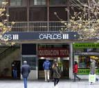 El centro comercial de Carlos III cierra tras 34 años y se derribará en febrero