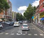 Muere un motorista tras chocar contra una barandilla en Madrid