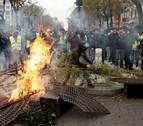 Al menos 135 heridos y más de 1.700 detenidos durante las protestas en Francia