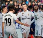 El Real Madrid gana en Huesca lejos de su mejor versión