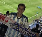 Olavide, un hincha más de River Plate en la final de la Libertadores