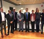 Universidad, I+D+i y energías renovables, asuntos tratados por Duque en Navarra