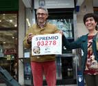 La lotería navideña consigna una media de 60,5 euros por navarro