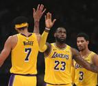 Los Lakers y los Warriors vencen sin concesiones