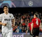Un sólido Valencia no da opción al United