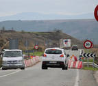 Tradisna critica el retraso de las obras en el puente de Lerín (NA-122)