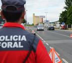 Herido un ciclista al sufrir una caída en el Paseo del Arga, en Zabaldika