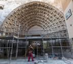 La Puerta del Juicio de la Catedral de Tudela muestra su nueva cara