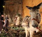 San Adrián recupera la escenificación del belén viviente en su casco viejo