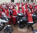 El rugido solidario de las motocicletas del I Motonoel en Navarra