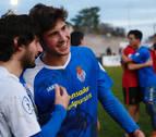 Javier Martón (Peña Sport) sale del banquillo, juega 14 minutos y marca tres goles