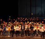 El colegio Irabia-Izaga emociona en Baluarte por Navidad