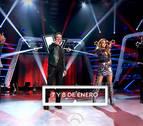 'La Voz' llega a Antena 3 el 7 de enero con galas más cortas