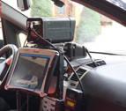 'Cazado' en Tudela a 174 km/h., sin permiso y positivo en drogas
