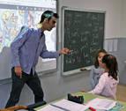 La educación ofrece empleo y las ventas, los contratos en Villava