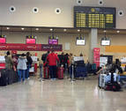 El tráfico de pasajeros del aeropuerto de Pamplona crece un 12,9% en junio