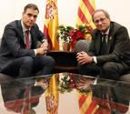 Pedro Sánchez y Quim Torra mantendrán hoy una conversación telefónica