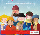Cruz Roja Navarra lanza la campaña 'Yo me protejo', ante la llegada del invierno