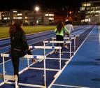 Atletas navarros piden un espacio cubierto en Larrabide y una pista cubierta en Tafalla