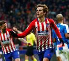 El Atlético especula pero sigue con su persecución del liderato