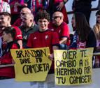 La marea roja no falló en Reus y apoyó a Osasuna hasta el triunfo
