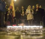El colectivo 'Vecinos de Paz' recuerda en Pamplona a las víctimas de ETA