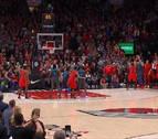 El espectacular triple de Doncic para forzar la prórroga asombra a la NBA