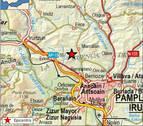 Registrado la madrugada del 23 un terremoto de 2,2 grados con epicentro en Juslapeña